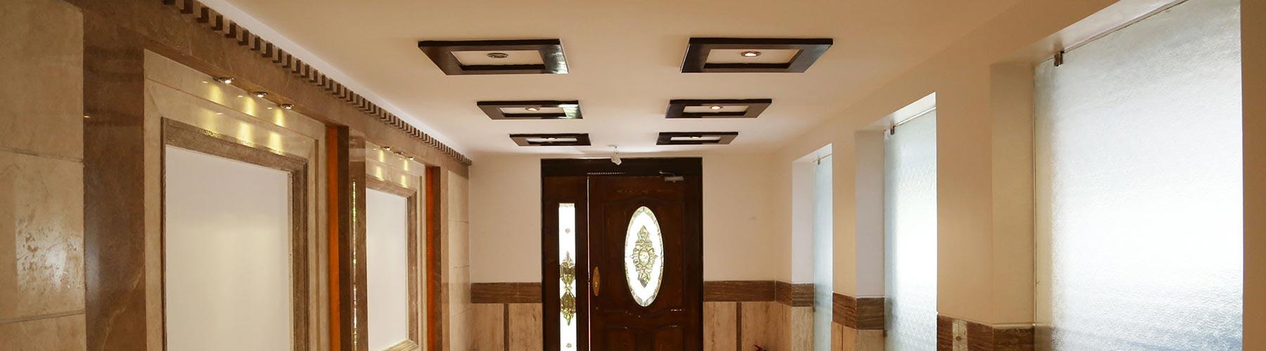 رنگ آمیزی پوششی داخلی ساختمان